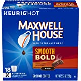 Maxwell House Smooth Bold Coffee K-Cup Pods, (4 Packs of 18)