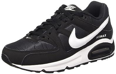 super popular 315da fb627 Nike Air Max Command, Baskets Basses Femme, Noir (Black White 021)
