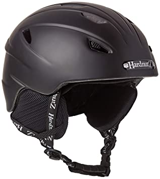 HardnutZ Hn104 - Casco de esquí/Snowboard, Unisex, Color Negro, tamaño 54