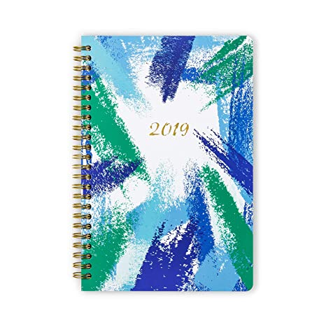 2019 Planner, Hardcover Weekly/Monthly/Yearly Personal Schedule Organizer Dated Agenda Book (January 2019-December 2019) 5.5 x 8 Inches