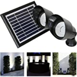 Frostfire Landscape Solar Spotlights (Set of 2)
