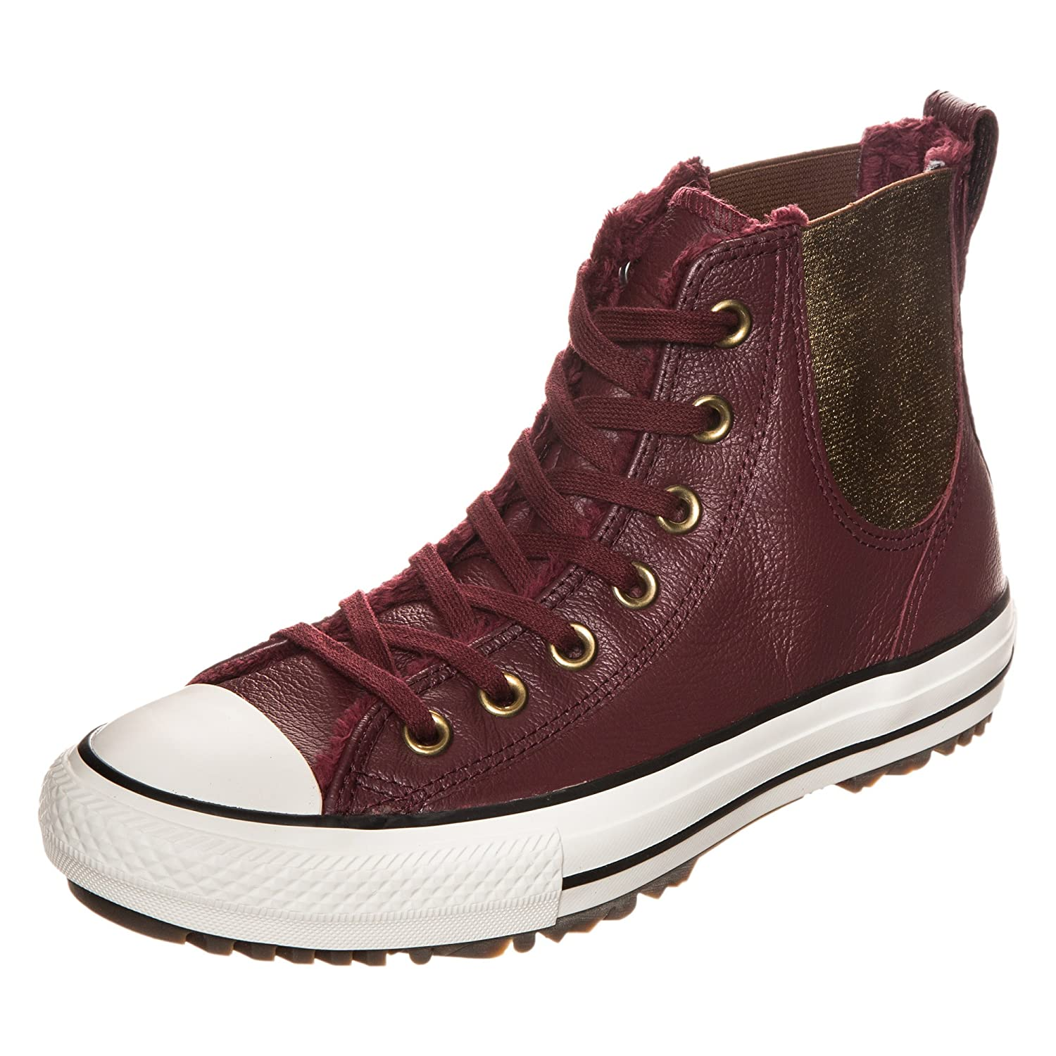 4447bb617762 Amazon.com | Converse Ctas Leather Fur Womens Chelsea Boots | Fashion  Sneakers
