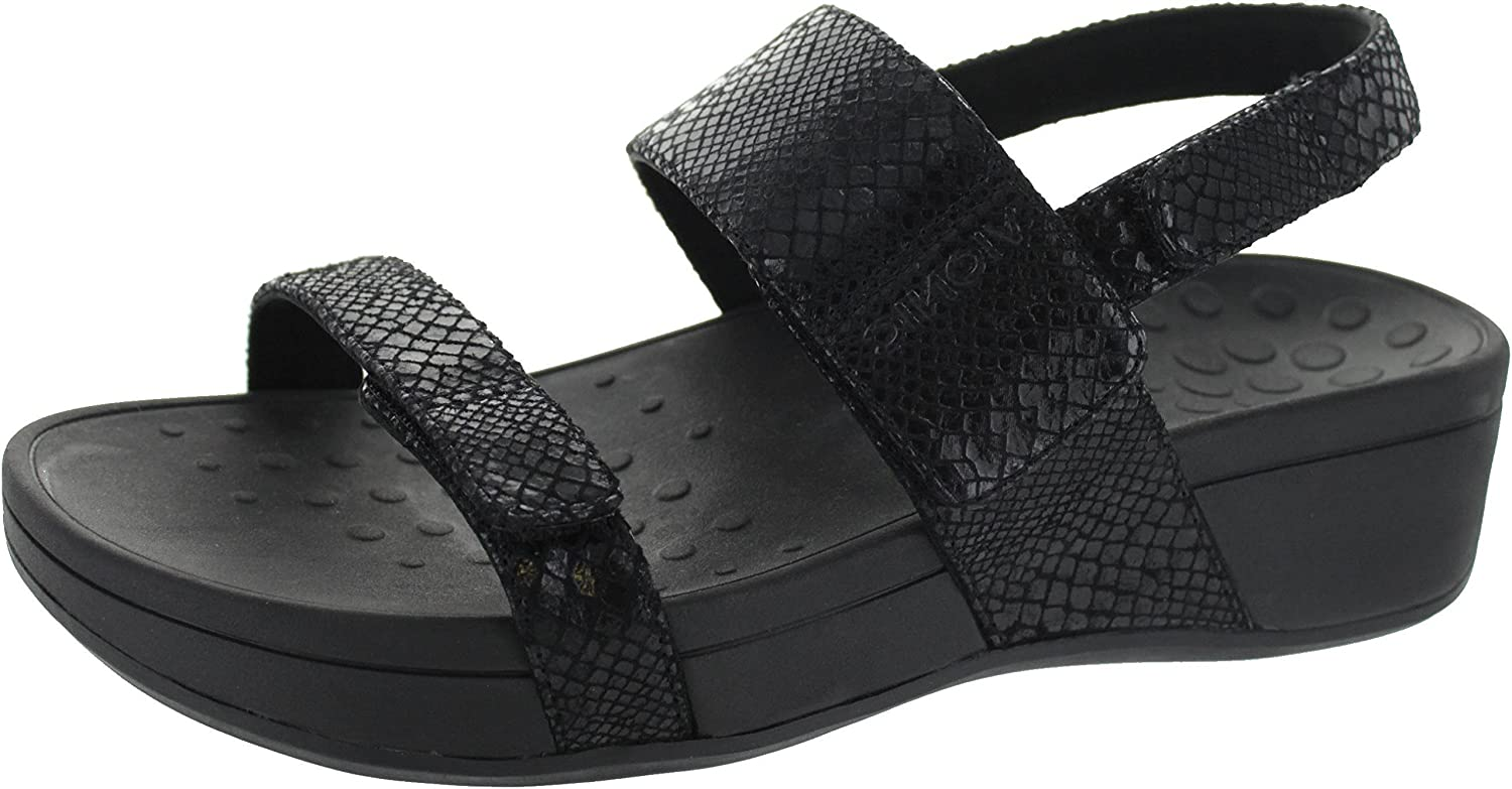 a3fd93edf5ba Vionic Womens 382 Bolinas Pacific Leather Sandals  Amazon.co.uk  Shoes    Bags
