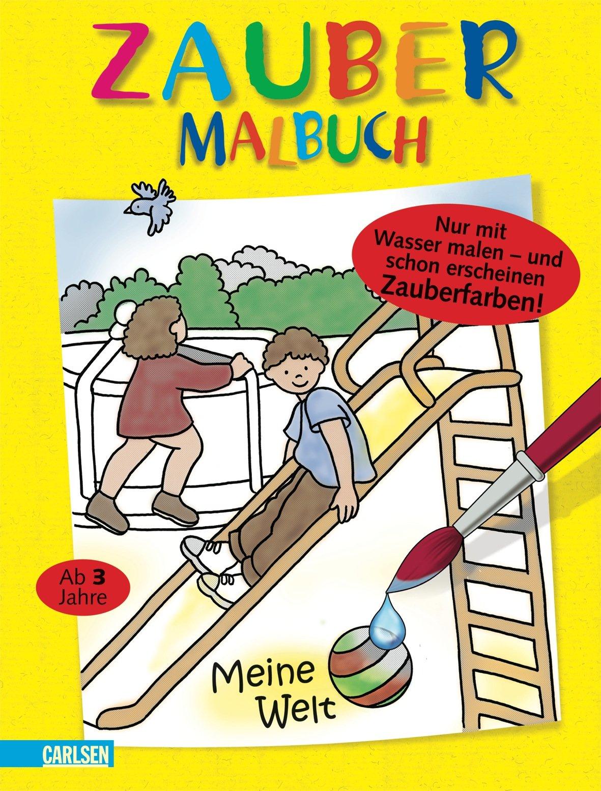 Nett Malen Mit Wasser Malbüchern Bilder - Malvorlagen Von Tieren ...