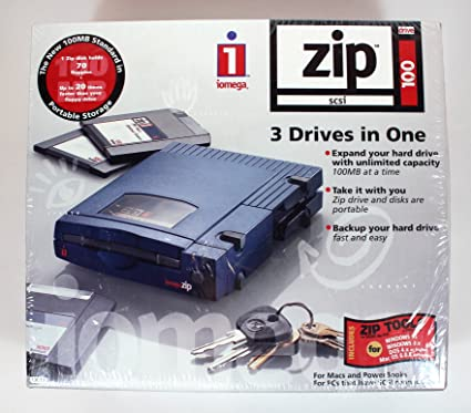 DOWNLOAD DRIVER: IOMEGA 100MB EXTERNAL ZIP DRIVE