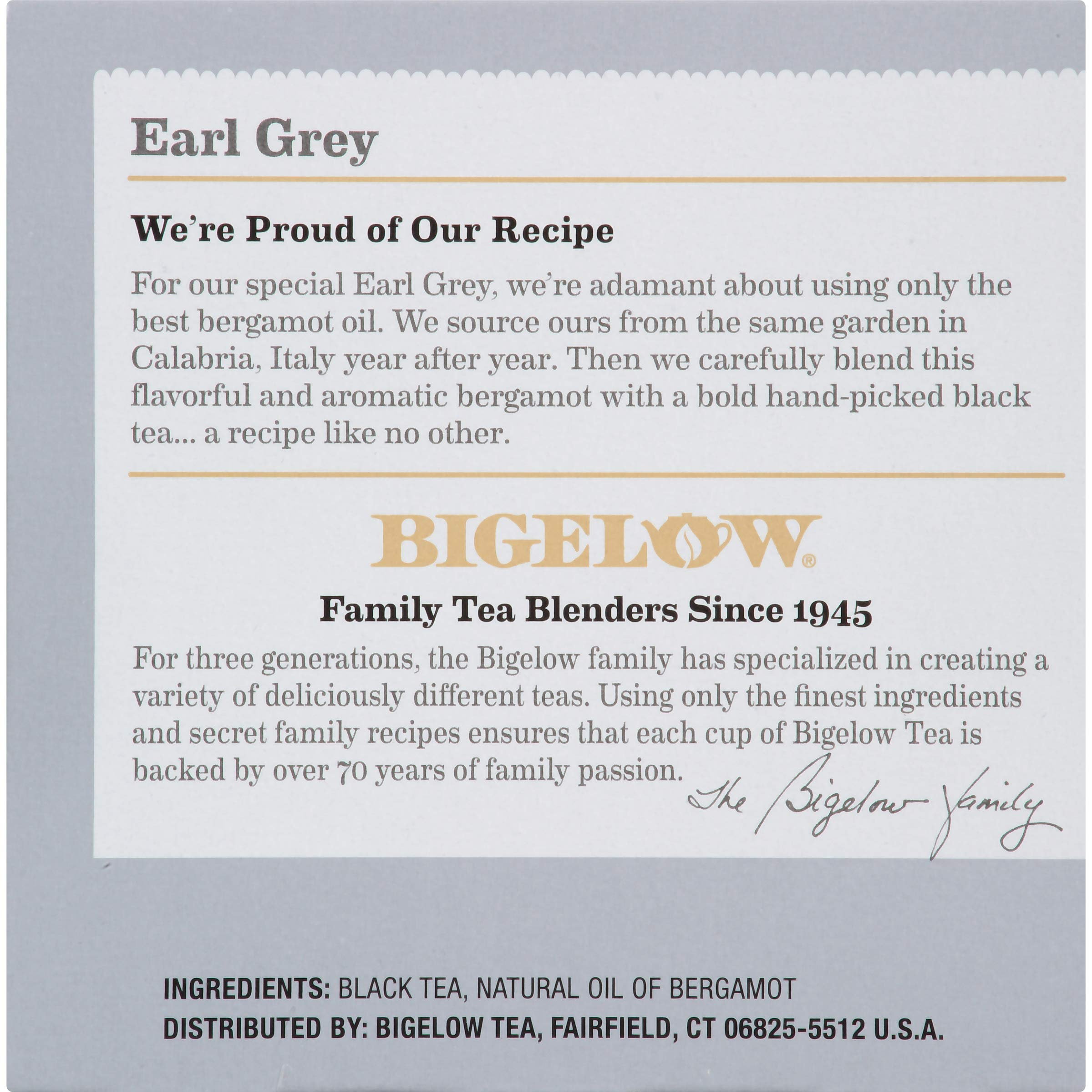 Bigelow Earl Grey Black Tea Keurig K-Cups, Box of 12 Cups (Pack of 6), 72 Tea Bags Total , Single Serve Portion Premium Tea in Pods, Compatible with Keurig and other K Cup Coffee and Tea Brewers by Bigelow Tea (Image #3)