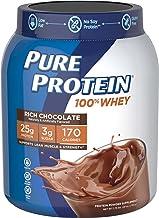 Pure Protein 100% Whey Powder Rich Chocolate