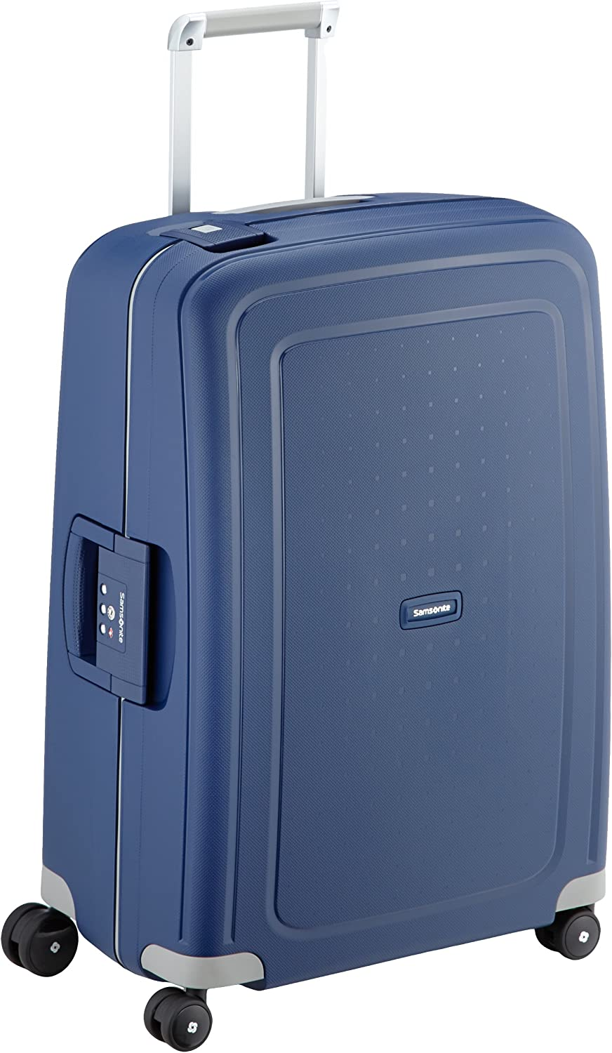 Samsonite S'Cure Spinner M Maleta, 69 cm, 79 L, Azul (Dark Blue)
