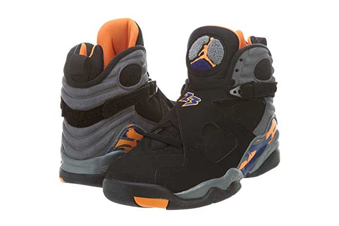 best sneakers 71292 18050 Amazon.com   NIKE Mens Air Jordan 8 Retro Phoenix Leather Basketball Shoes    Fashion Sneakers
