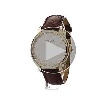 Tissot Men's T41.5.413.73 Le Locle Automatic Skeleton-Back Watch