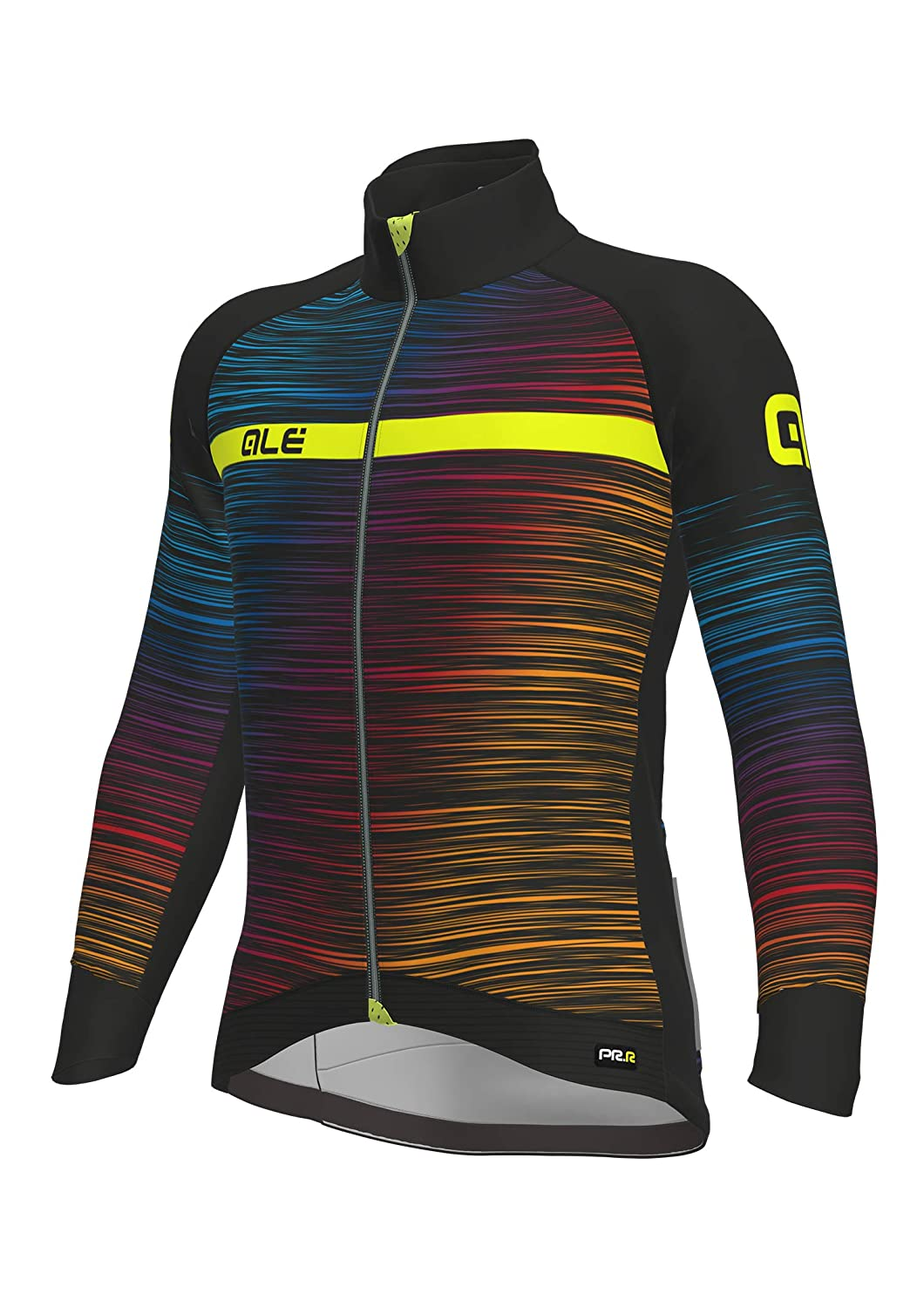 ALE Giubbino The End Graphics Prr, Multicolor- Giallo Fluo, XL