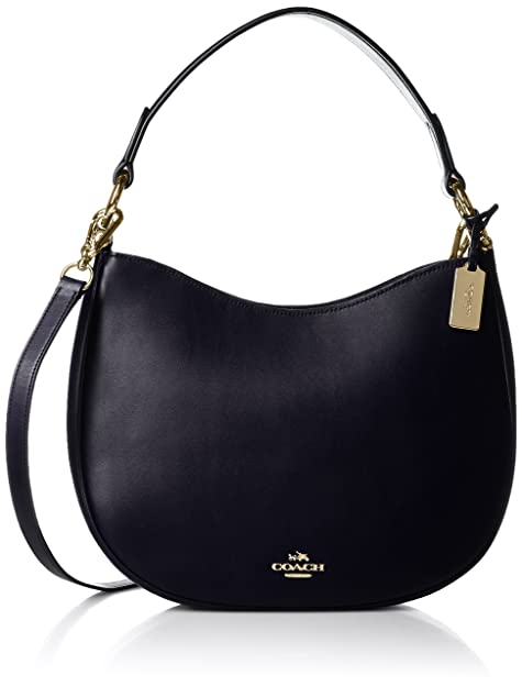 Amazon.com: Coach Nomad Crossbody en glovetanned piel Oro de ...