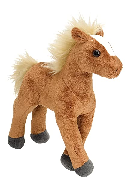Wild Republic Horse Plush, Stuffed Animal, Plush Toy, Gifts for Kids, Cuddlekins