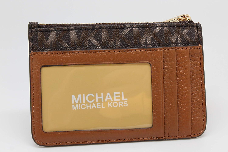 Amazon.com: Michael Kors Fulton - Monedero con cremallera y ...