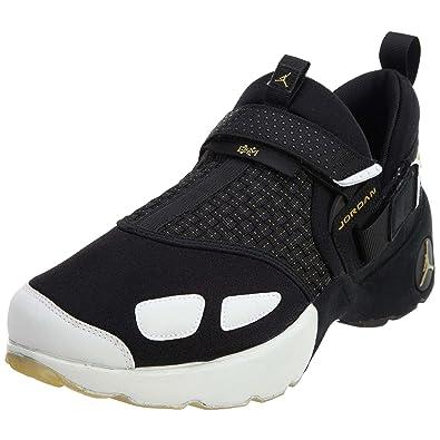 Nike Mens Jordan Trunner LX BHM Black Gold-White Neoprene Size 11.5 0c3b18e58