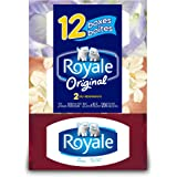 Royale Facial Tissue - Soft and Strong 2-ply - 100 Sheets Per Box - 12 Count - Variety of Box Designs