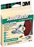 3M SandBlaster Right Angle Grinder Multi-Layer Disc, 4.5-Inch, 36-Grit (9678)
