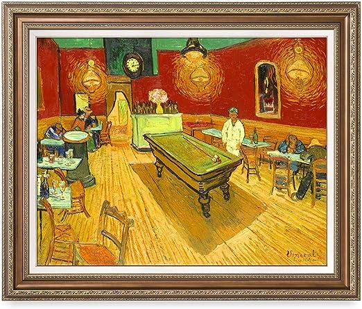 DecorArts,Van Gogh Starry Night Reproduction Artwork Living Room Framed Wall Art