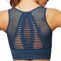 UMIPUBO Sujetador Deportivo Mujer Material Cómodo Sin Costuras Almohadilla Desmontable para Gimnasio Yoga Bailar de Alto…