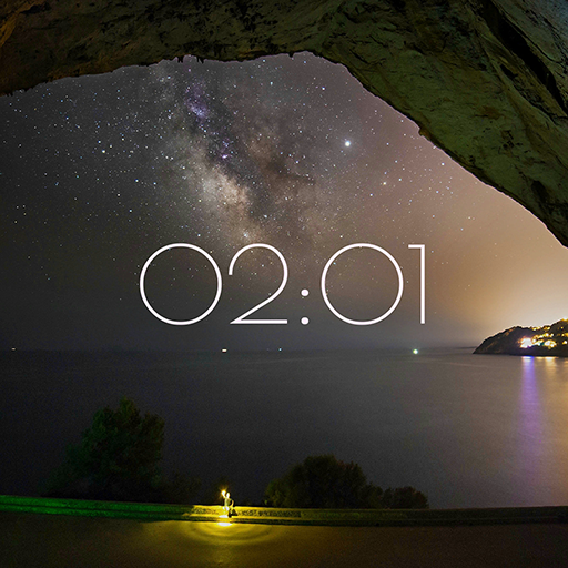 Peaceful Clock HD