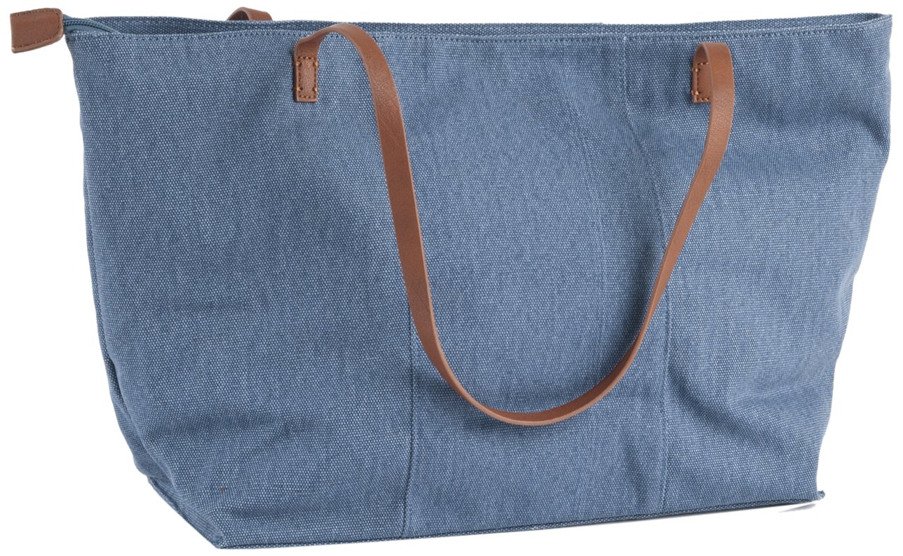 Blue SARO LIFESTYLE 1-Piece Tote Bag
