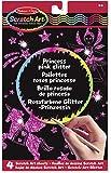 Melissa & Doug Scratch Art: Princess Pink Glitter Board - 4 Scratch Art Boards