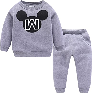 Mud Kingdom Kids Fleece Outfits for Winter Cute