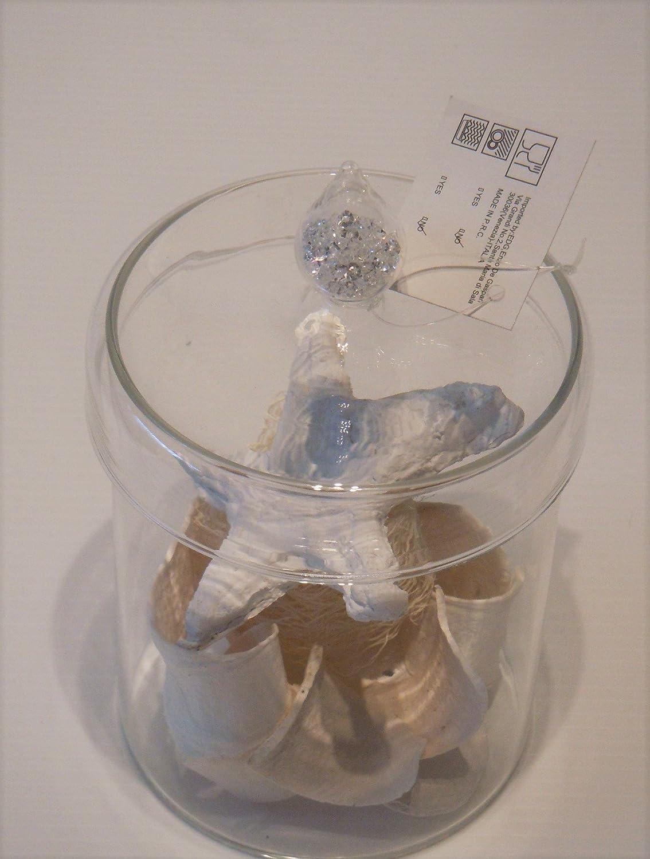 Edg enzo de gasperi barattolo vaso diamond con coperchio a punta h d white vetro amazonit casa e - De gasperi santa maria di sala ...