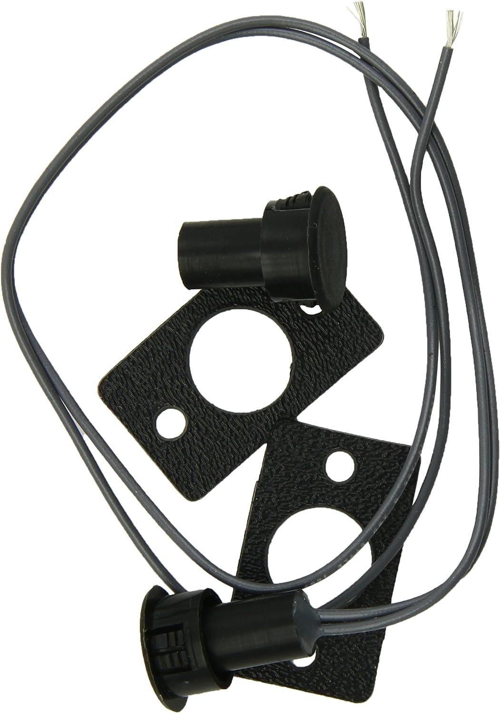 """Kwikee 905324000 Black 3/4"""" Core Round Magnetic Door Switch"""