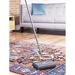 Fuller Brush 17042 Electrostatic Carpet & Floor Sweeper with Additional Rubber Rotor