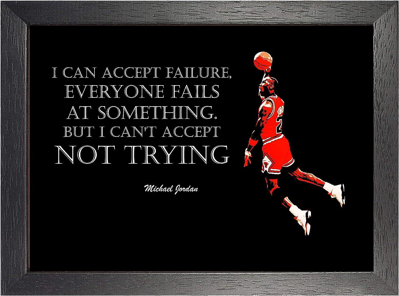 Michael Jordan 3# Baloncesto Americano Jugador NBA Deporte Frase ...