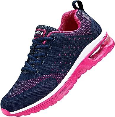 adituob - Zapatillas de Running para Mujer, Ligeras, Transpirables, para Caminar, Fitness, Deportivas: Amazon.es: Zapatos y complementos