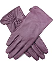 Dents Women's Leather Gloves w Tricot Lining Classic Ladies Winter Warm
