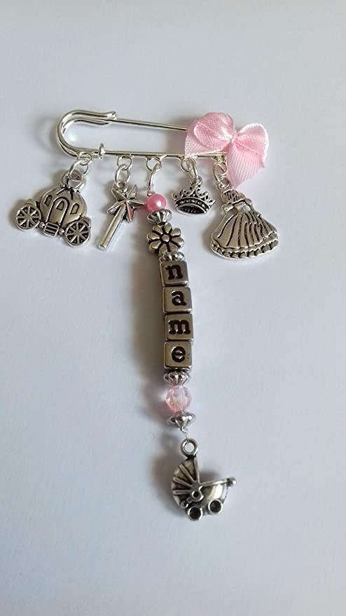 boys and girls personalised baby car seat charms