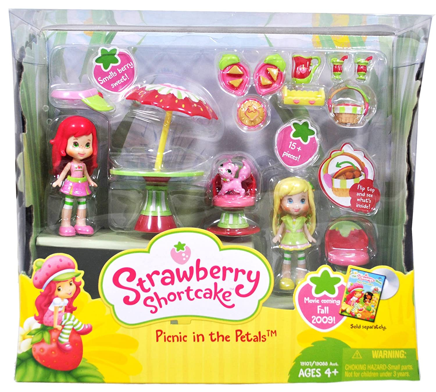 Strawberry Shortcake Berry Cafe Doll House Playset Toy Dolls