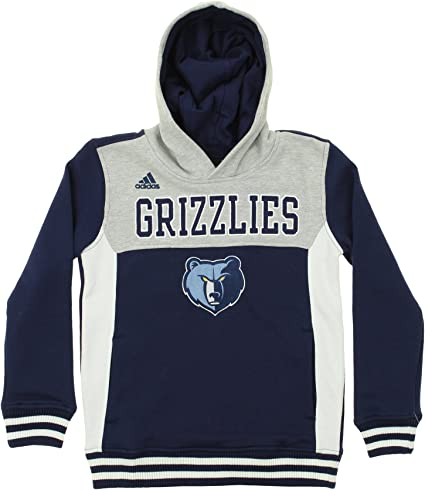Navy OuterStuff NBA Youth Memphis Grizzlies Fleece Pullover Hoodie