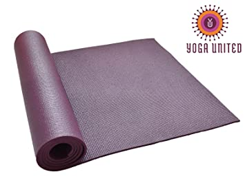 Alfombrilla de Yoga 6 mm - Berenjena: Amazon.es: Deportes y ...
