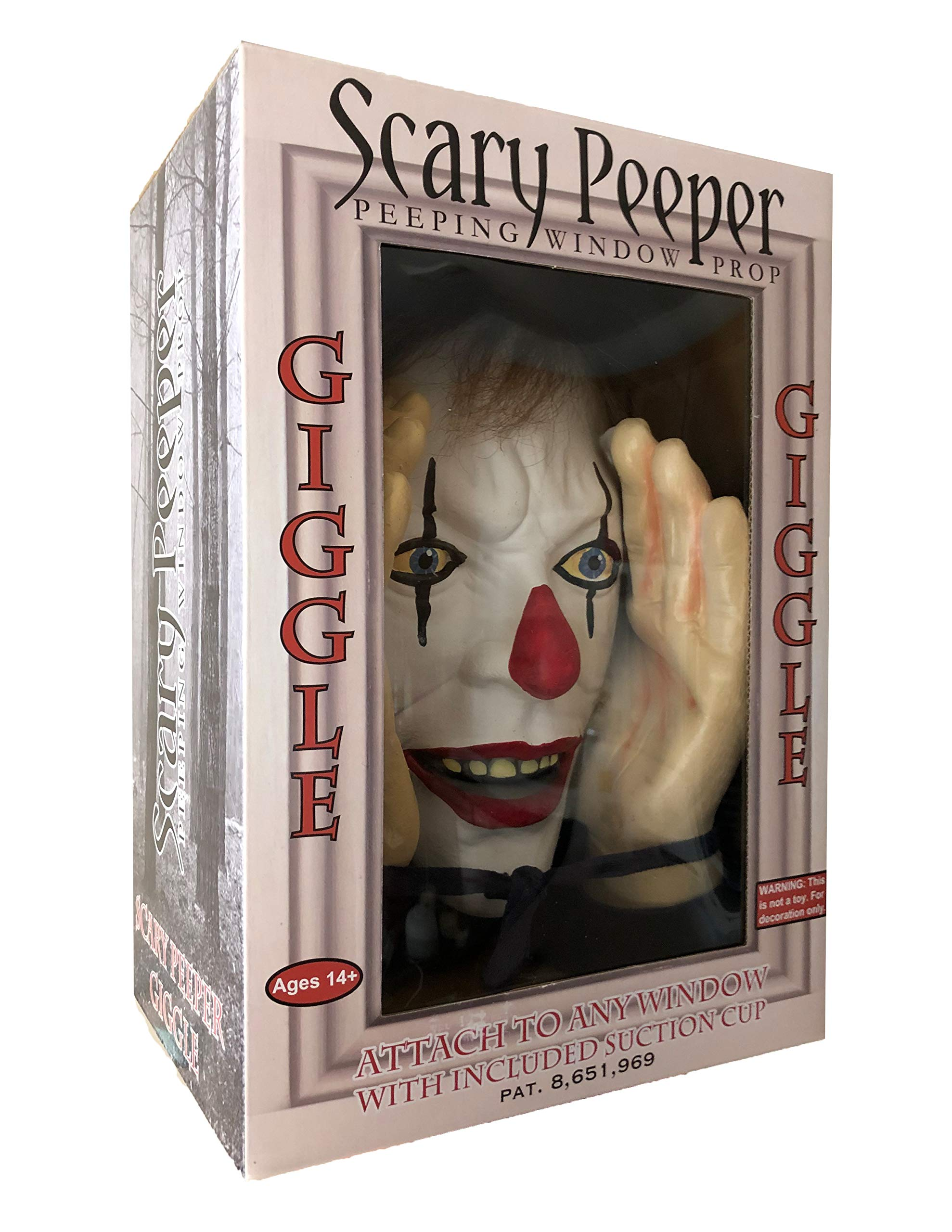 Scary Peeper Giggle Clown by Scary Peeper Fright At First Sight (Image #5)