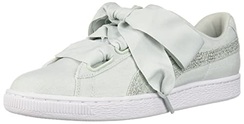 buy popular 1cbca e901e PUMA Women's Basket Heart Canvas Wn Sneaker