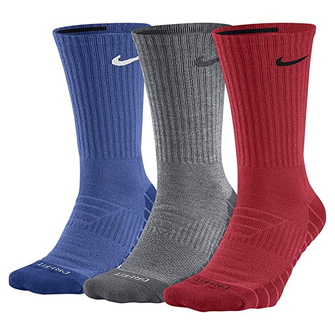 Amazon.com: Nike Everyday Max Cushion Crew Calcetines de ...