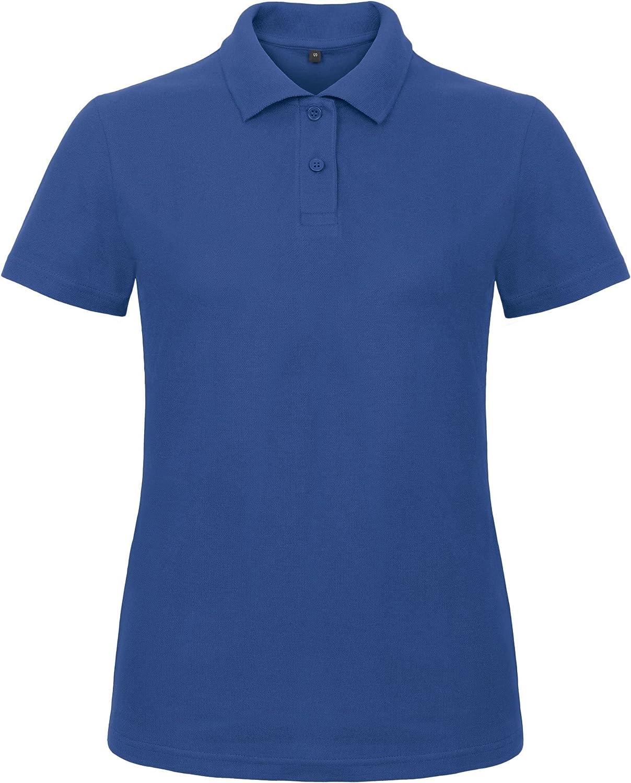 B/&C Ladies Piqu/é Damen Polo Shirt PWI11