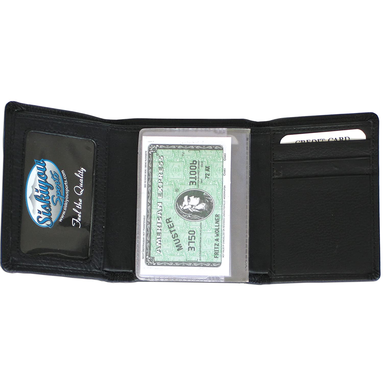 NFL Washington Redskins Leather Tri-fold Wallet