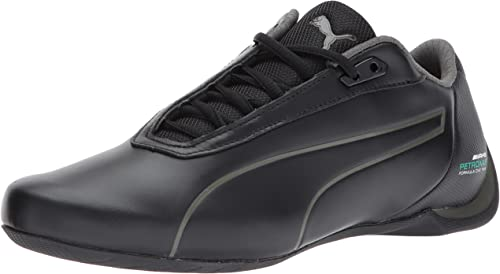 NEW* MENS PUMA MERCEDES FUTURE CAT Leather White Black