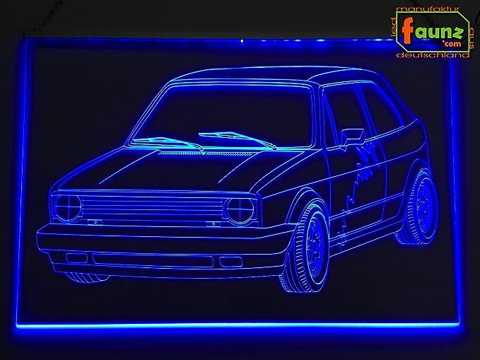 LED Bombilla Cartel detalle Dibujo para coche vehículo ...