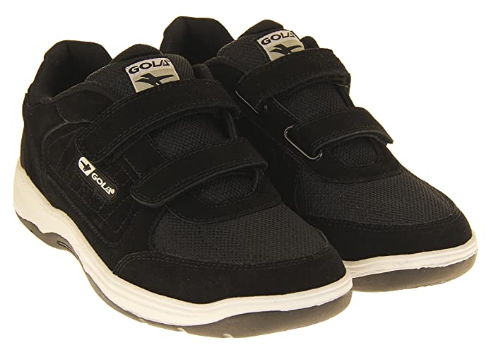 553f53bf4384d Gola Belmont Wide Fit Mens Leather Trainer: Amazon.co.uk: Shoes & Bags