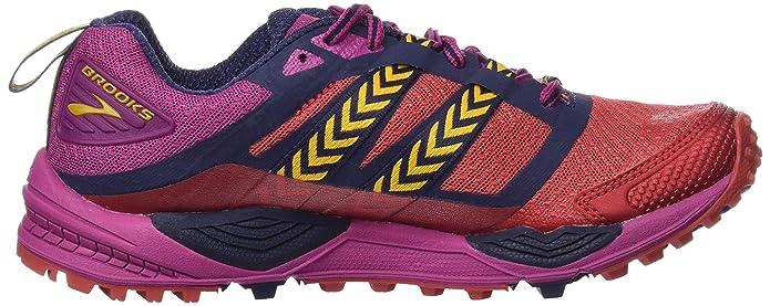 Amazon.com   Brooks Womens Cascadia 12 (9, Poppy Red/Peacoat/Baton Rouge)   Road Running