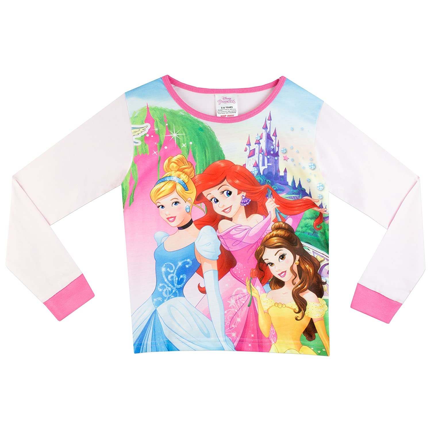 Disney Girls Princess T-Shirt Ages 18 Months to 8 Years