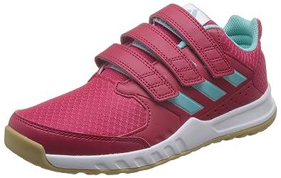 factory authentic df2d8 eaaeb adidas Unisex Kids Fortagym Cf Fitness Shoes, Pink (EnepnkEneaqu),