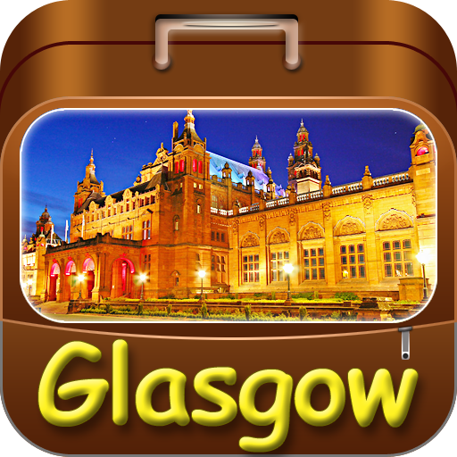 Glasgow Offline Map Travel Guide (Kindle Tablet Edition