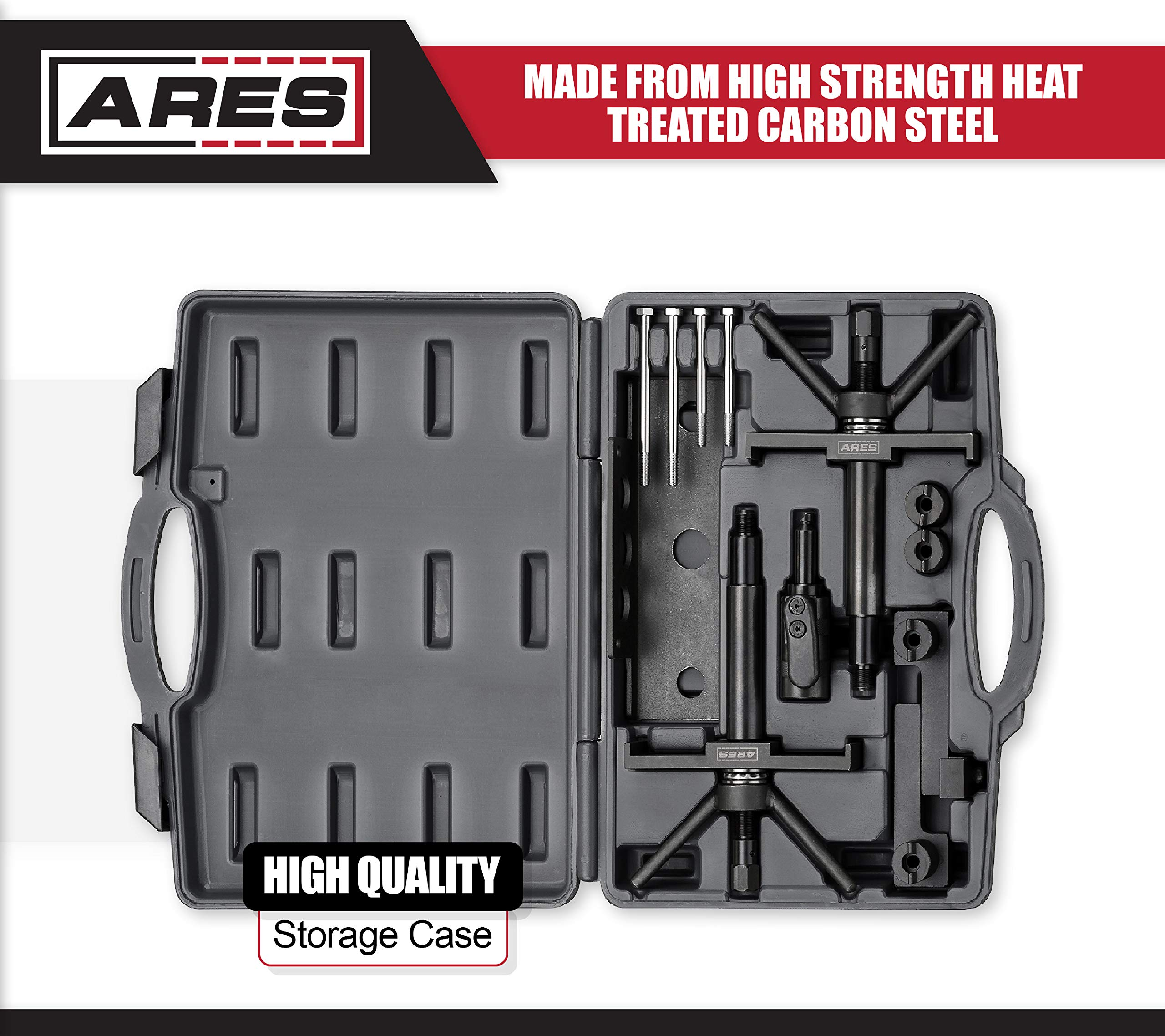 ARES 71506 | Volvo Camshaft, Crankshaft, and Timing Alignment Master Tool Set | Deep Counter-Weighted Sockets for Increased Torque | Correctly Install Camshafts with Cam Cover by ARES (Image #2)
